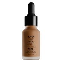 NYX Professional Makeup - TOTAL CONTROL - DROP FOUNDATION - Podkład z zakraplaczem - TCDF19 - MOCHA - TCDF19 - MOCHA