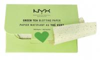 NYX Professional Makeup - Green Tea Blotting Paper - 100 matting papers