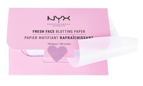 NYX Professional Makeup - Fresh Face Blotting Paper - 100 Blotting Papers