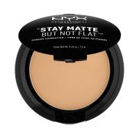 NYX Professional Makeup - STAY MATTE BUT NOT FLAT - Pudrowy podkład w kompakcie - 10 - CARAMEL