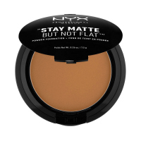 NYX Professional Makeup - STAY MATTE BUT NOT FLAT - Pudrowy podkład w kompakcie - 19 - COCOA - 19 - COCOA