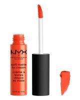 NYX Professional Makeup - SOFT MATTE LIP CREAM - Kremowa pomadka do ust w płynie - 28 - San Juan - 28 - San Juan