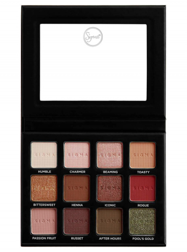 SIGMA - WARM NEUTRALS VOLUME 2 - EYESHADOW PALETTE - Paleta 12 cieni do powiek