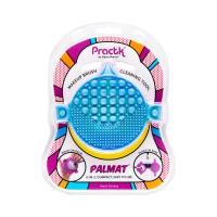 Practk® By Sigma Beauty® - MAKEUP BRUSH CLEANING TOOL - Gumowa mata do czyszczenia pędzli  - NIEBIESKA