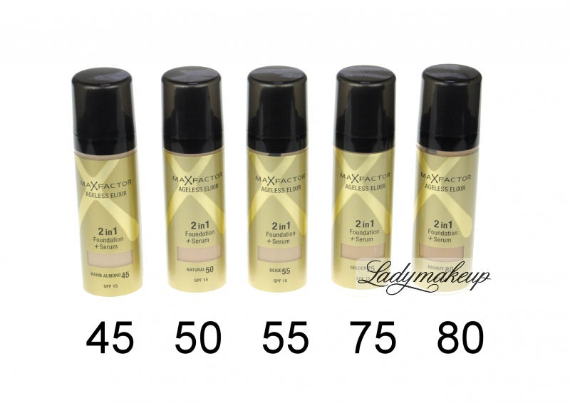max factor ageless elixir 2 in 1 foundation serum 30ml beige 55