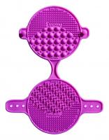 Practk® By Sigma Beauty® - MAKEUP BRUSH CLEANING TOOL - Gumowa mata do czyszczenia pędzli  - FIOLETOWA