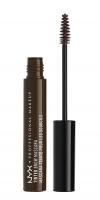 NYX Professional Makeup - TINTED BROW MASCARA - BLACK - BLACK