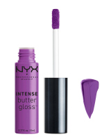 NYX Professional Makeup - INTENSE BUTTER GLOSS - Błyszczyk do ust - BERRY STRUDEL - BERRY STRUDEL