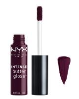 NYX Professional Makeup - INTENSE BUTTER GLOSS - Błyszczyk do ust - BLACK CHERRY TART - BLACK CHERRY TART