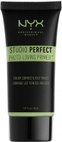 NYX Professional Makeup - STUDIO PERFECT PRIMER - PHOTO LOVING PRIMER - GREEN - Korygująca baza pod makijaż