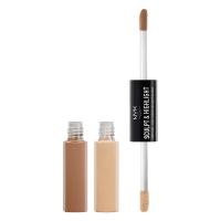 NYX Professional Makeup - SCULPT & HIGHLIGHT - FACE DUO - 02 - ALMOND / LIGHT - 02 - ALMOND / LIGHT