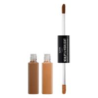 NYX Professional Makeup - SCULPT & HIGHLIGHT - FACE DUO - 05 - CHESTNUT / SAND - 05 - CHESTNUT / SAND