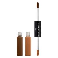 NYX Professional Makeup - SCULPT & HIGHLIGHT - FACE DUO - 06 - ESPRESSO / HONEY - 06 - ESPRESSO / HONEY