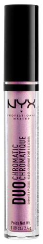NYX Professional Makeup - DUO CHROMATIC LIP GLOSS - Duochromatyczny błyszczyk do ust