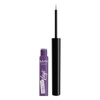 NYX Professional Makeup - STRICTLY VINYL EYELINER - Eyeliner w płynie - EXTRA - EXTRA