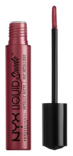 NYX Professional Makeup - LIQUID SUEDE METALLIC MATTE - Metaliczna pomadka do ust
