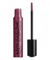 NYX Professional Makeup - LIQUID SUEDE METALLIC MATTE - Metaliczna pomadka do ust - PURE SOCIETY - PURE SOCIETY