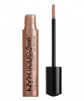 NYX Professional Makeup - LIQUID SUEDE METALLIC MATTE - EXPOSED - EXPOSED