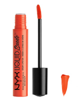 NYX Professional Makeup - LIQUID Suede - Pomadka do ust w płynie - ORANGE COUNTRY - ORANGE COUNTRY