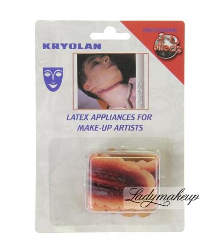 KRYOLAN - LATEX APPLIANCES FOR MAKE-UP ARTISTS - Rana duszenia - Art. 7216