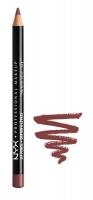 NYX Professional Makeup - SLIM LIP PENCIL - Konturówka do ust - 809 - MAHOGANY - 809 - MAHOGANY