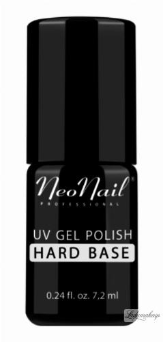 NeoNail - UV GEL POLISH - BASE HARD - Lakier podkładowy/ baza - 7,2 ml - ART. 4744-7