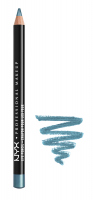 NYX Professional Makeup - EYE AND EYEBROW PENCIL - 910 - SATIN BLUE - 910 - SATIN BLUE