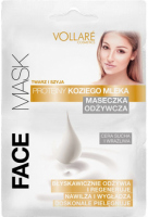 VOLLARÉ - NOURISHING MASK - GOAT'S MILK PROTEINS - FACE & NECK