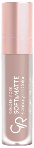 Golden Rose - Soft & Matte Creamy Lip Color - Matowa pomadka do ust w płynie
