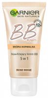 GARNIER - BB Cream - Classic - MIRACLE SKIN PERFECTOR 5-IN-1 - Krem BB do skóry normalnej - ROSE BEIGE - ROSE BEIGE