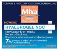 Mixa - HYALUROGEL NIGHT - Moisturizing Sleeping Pack for Sensitive Skin