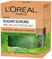 L'Oréal - SUGAR SCRUBS - Oczyszczający peeling do twarzy i ust