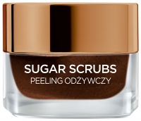L'Oréal - SUGAR SCRUBS - Nourishing face and lip scrub