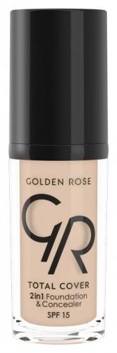 Golden Rose - Total Cover 2in1 Foundation & Concealer