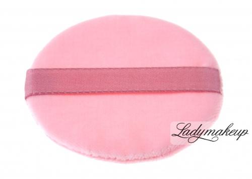 Kryolan - Różowy puszek do pudru 8 cm