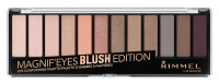 Rimmel - MAGNIF'EYES - Eye Contouring Palette - Paleta 12 cieni do powiek - 002 BLUSH EDITION