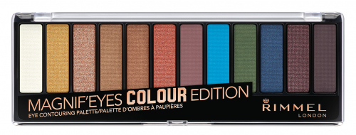 Rimmel - MAGNIF'EYES - Eye Contouring Palette - 004 COLOR EDITION