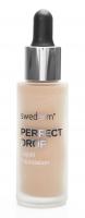 Swederm - PERFECT DROP - Liquid Foundation - Lekki fluid minimalizujący niedoskonałości skóry - 04 - HONEY - 04 - HONEY