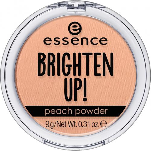 Essence - BRIGHTEN UP! Peach Powder - Brzoskwiniowy puder do twarzy - 10 Peach Me Up!