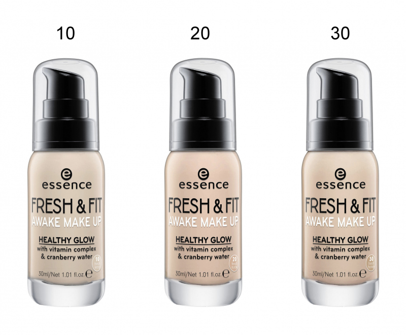 Essence Fresh Fit Awake Make Up Foundation