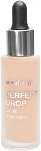 Swederm - PERFECT DROP - Liquid Foundation - Lekki fluid minimalizujący niedoskonałości skóry