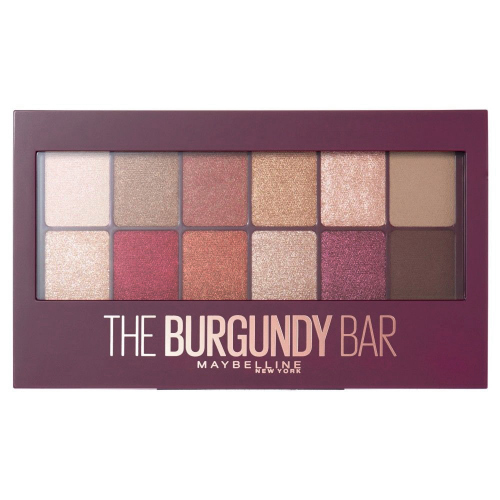 MAYBELLINE - THE BURGUNDY BAR EYESHADOW PALETTE