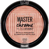 MAYBELLINE - Master Chrome - METALLIC HIGHLIGHTER - Metaliczny rozświetlacz - 050 - MOLTEN ROSE GOLD - 050 - MOLTEN ROSE GOLD
