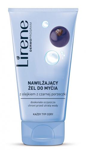 Lirene - Moisturizing face wash gel with blackcurrant oil - 150ml