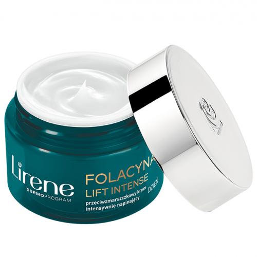 Lirene - FOLACYNA LIFT INTENSE - Przeciwzmarszczkowy krem intensywnie napinający na dzień 50+