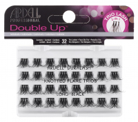 ARDELL - Double Up -  Increased Volume Eyelashes - KNOTTED FLARE TRIOS - LONG BLACK - KNOTTED FLARE TRIOS - LONG BLACK