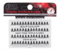 ARDELL - Triple Individuals Cluster Eyelashes - KNOT-FREE TRIPLE FLARES - SHORT BLACK - KNOT-FREE TRIPLE FLARES - SHORT BLACK