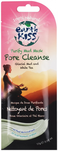 Earth Kiss - Purify Mud Mask Pore Cleanse Glacial Mud and White Tea