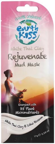 Earth Kiss - White Thai Clay Rejuvenable Mud Mask - Maseczka błotna odmładzająca pory