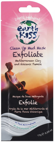 Earth Kiss - Clean Up Mud Mask Exfoliate Mediterranean Clay and Volcanic Pumice
